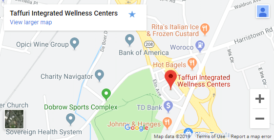 Map of Fair Lawn NJ Chiropractors